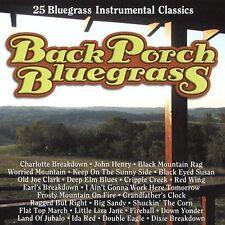 Back Porch Bluegrass: 25 Bluegrass Instrumental Classics (CD, 2005, Rural...)NEW