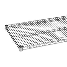 Commercial Kitchen Heavy Duty Chrome Wire Shelves 18 x 36 NSF Pack of 2