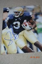 JAMES ALDRIDGE SIGNED NOTRE DAME PHOTO