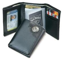 Jack Daniels DISTILLERS CHOICE Collection Trifold Wallet  BLACK