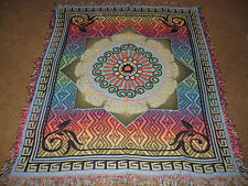 Mexican Summer Tapestry Afghan Throw