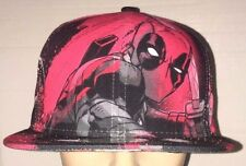 Deadpool Marvel New Era All Over 59Fifty Rare and Exclusive 7 5/8