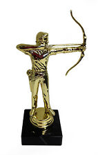 New Marble Based MALE ARCHERY Trophy FREE ENGRAVING