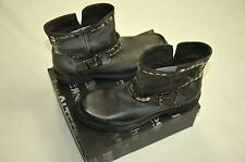 ALTERNATIVE SHOES Stiefeletten Nabukleder  grigio Gr. 40   Made in Italy