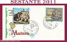 ITALIA FDC FILAGRANO MATERA ANNULLO ROVIGO 1981 G860