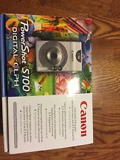 Canon PowerShot Digital ELPH S100 / Digital IXUS 2.0 MP Digital Camera - Silver