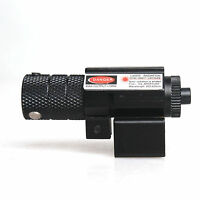 Red Dot Laser Sight Pistol Rifle Scope Fit Weaver Rail Picatinny Mount Airsoft