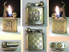 Briquet Ancien @ VULCANO Militaire Indochine - WW2 @ Lighter Feuerzeug Accendino