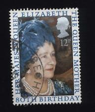 1980 80th Birthday of the Queen Mother Used set