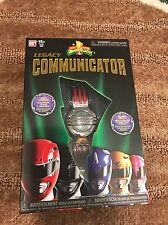 NEW Genuine Mighty Morphin Power Rangers Legacy Communicator (5 Color Bands)