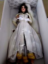 "Franklin Heirloom Mint HarleyDavidson Bride19"" Porcelain Doll KRISTY NIB stuning"