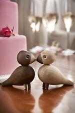 KAY BOJESEN 2er Set UNZERTRENNLICHE Holzfiguren Lovebirds Hochzeit Rosendahl neu