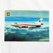 IBERIA Airlines - DC10 - Aircraft Postcard - Top Quality