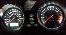 WHITE SUZUKI BANDIT 600 mk2 led dash clock conversion kit lightenUPgrade