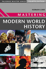 Mastering Modern World History by Norman Lowe (Paperback, 2005)
