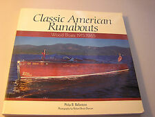 Classic American Runabouts Wood Boats 1915-1965 by Philip B. Ballantyne Sailing