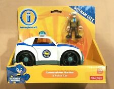 New IMAGINEXT DC Comics BATMAN Gotham EXCLUSIVE COMMISSIONER GORDON Police Car