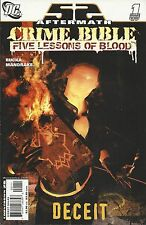 DC 52 Aftermath Crime Bible Five Lessons comic issue 1