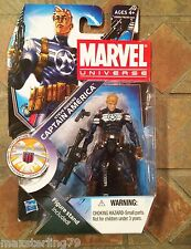 Marvel Universe COMMANDER STEVE ROGERS  #021 Series 3 Avengers 2011 X-Men