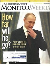 The Christian Science Monitor Weekly - April 7, 2014  Putin, Russia, U.S. Rivers