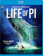 Life of Pi (Blu-ray Disc,  3D)   2 disc set with UNUSED digital code