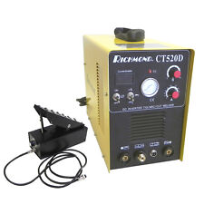 BRAND NEW 3-in-1 CT520D TIG ARC STICK MMA WELDER PLASMA CUTTER WITH FOOT PEDAL