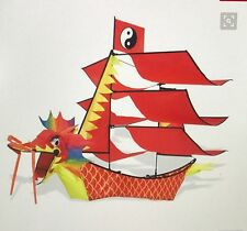 "50"" Dragon Boat Kite, ready to fly, new"