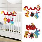 Animal Handbells Developmental Toy Bed Bells Kids Baby Soft Toys Rattle Lovely