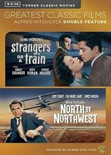 TCM Greatest North by Northwest / Strangers on a Train (Dvd, 2014) *New, Sealed*