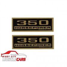 1965-66 Chevrolet CorvetteDecal Valve Cover 350 Horsepower