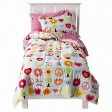 5 pc Circo Peace Girl Collection Twin Comforter, Sham & Sheet Bedding Set NIP