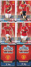 MATCH ATTAX 14/15 Valencia MANCHESTER UNITED Card No.190 FREE POSTAGE