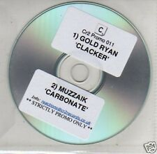 (B603) Gold Ryan, Clacker/Muzzaik, Carbonate - DJ CD