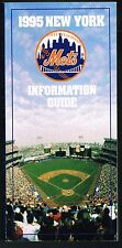1995 New York Mets Baseball MLB Media GUIDE