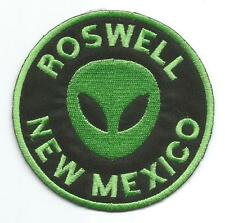 Roswell New Mexico Novelty Alien Character Patch - Sew-on / Iron-on Cloth Patch
