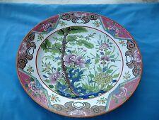 grand plat 19ème en porcelaine japon ? chine ? compagnie des indes ?