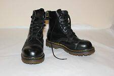 RARE VINTAGE DOC DR. MARTENS BOOTS ~ UK 4 ~ US 6 - 6.5 ~ BLACK LEATHER