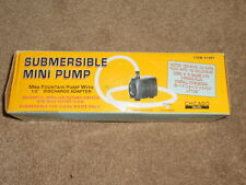 Chicago Electric Submersible Mini Fountain Pump 190 GPH  NEW IN BOX