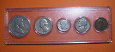 1950 US Coin Year Set 5 Coins 90% Silver
