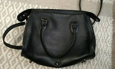 Coach vintage black doctor bag purse crossbody leather MADE IN USA speedy