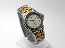Diver ESQ sharks by MOVADO SWISS MENS 2-TONED GOLD & SS, NEW BAT. Very good cond