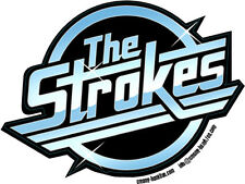 The Strokes contoured shaped vinyl sticker decal 110mm x 80mm