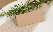 Recycled Kraft Table Name Place Cards (pack of 50)