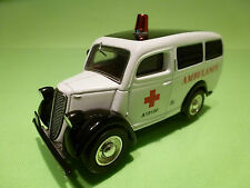 MATCHBOX YESTERYEAR 1:43 FORD E 83 W 1950 - AMBULANCE A190190 - VERY GOOD