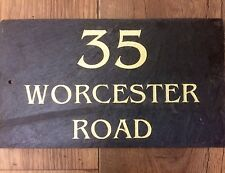 Slate name plate address number House Name for your home high quality!!!!!!!!