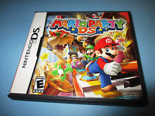 Mario Party DS (Nintendo DS) Lite DSi XL 3DS 2DS w/Case & Manual