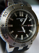 Swiss Legend Challenger 200m Diver Sports Ss Hombres Reloj