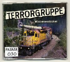 Terrorgruppe Maxi-CD Wochenendticket - 4-track CD