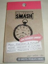 SMASH BOOK ACCESSORY PAD - PAST, PRESENT & FUTURE - Journaling, Scrapbooking -