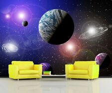 GIANT Wall Mural Photo Wallpaper ALIEN PLANETS SPACE STARS Home Decor 335x236cm